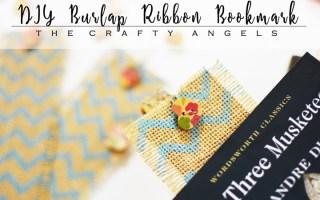 Most creative ways to use burlap, creative burlap projects, DIY burlap ribbon bookmarks, burlap craft, burlap idea, using burlap, burlap craft ideas, burlap project, burlap shabby chic project, burlap ribbon ideas, burlap ribbon craft, burlap ribbon bookmark, diy bookmark