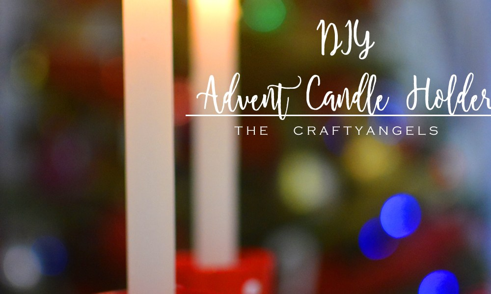 Diy Christmas Advent Candle Holders With Shot Glass The