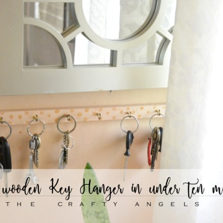 DIY wooden key holder, DIY key holder with hooks, DIY simple keyholder, diy keyholder, diy key stand, wooden keyhanger, key hanger, minimalist key hanger, simple key hanger,