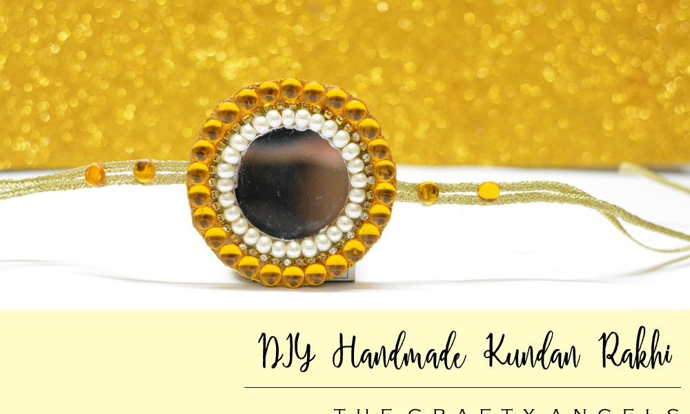 DIY handmade Kundan Rakhi making , kundan rakhi tutorial, rakhi design, rakhi ideas, rakhsabandhan activity, kids rakhi, rakhi competition (1)