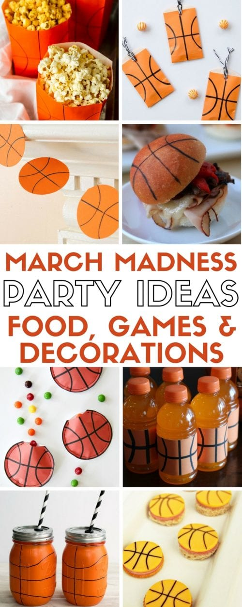 20 March Madness Party Ideas Food Games And Decorations