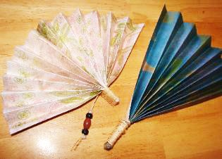 Image result for handmade children hand fans