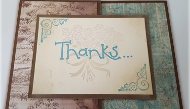 Thank You Card - Joy Fold