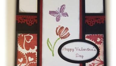 Valentine's Day Card - Flower