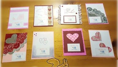 Valentine's Day Craft Fun with The Kiwanis Aktion Club