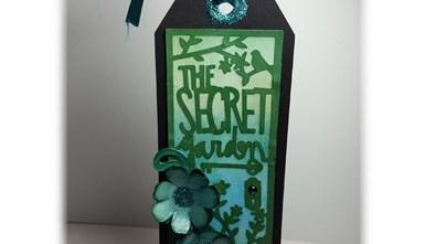 Handcrafted Bookmark - The Secret Garden