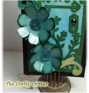 Faux Glass Flowers