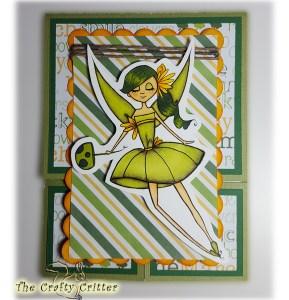 Little Flower Fairy Panel