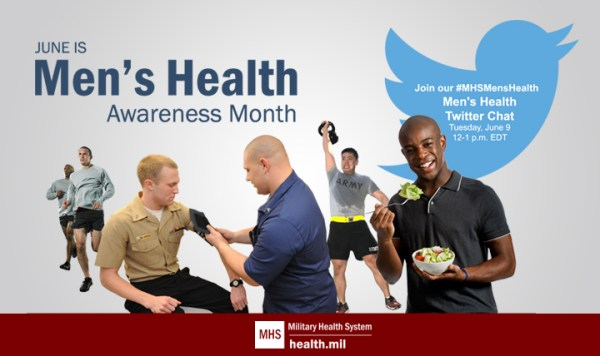 June is Men's Health Awareness Month   the crafty lady in ...