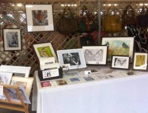 Christine Pettet Art stall
