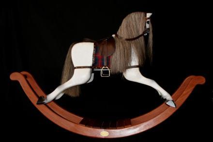 Delfryn Rocking Horses white horse