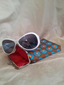 Made by FeeFee sunglasses case