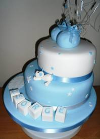 Penny Wishes Creations christening cake