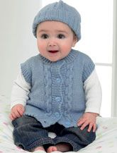 Baby patterns, can also be knitted for you.