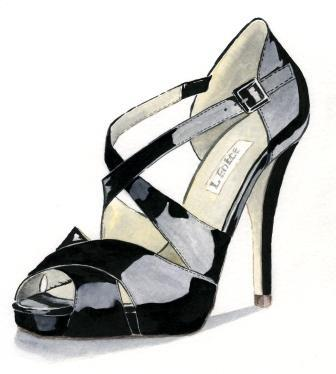 8. Louise Hickman Artworks shoe