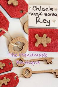 3. The Handmade Boutique magic Santa keys