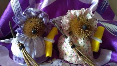 4. True Moon crafts Teasel Hedgehogs