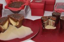 4. World of Chocolate filled chocolates with walnuts or pearnuts and egg liqueur