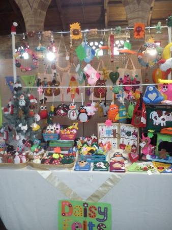 1. DAISY FELTS stall photo