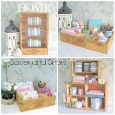 2. Baxter and Snow - recycled wooden wine boxes selection