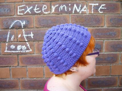 2. ITCHY CROCHET nate beanie