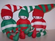 5. SOCKSY BEASTS elves
