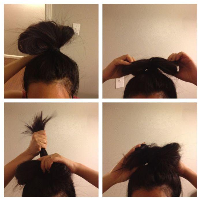 hello kitty hair bow tutorial
