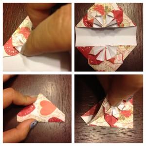origami heart step 5