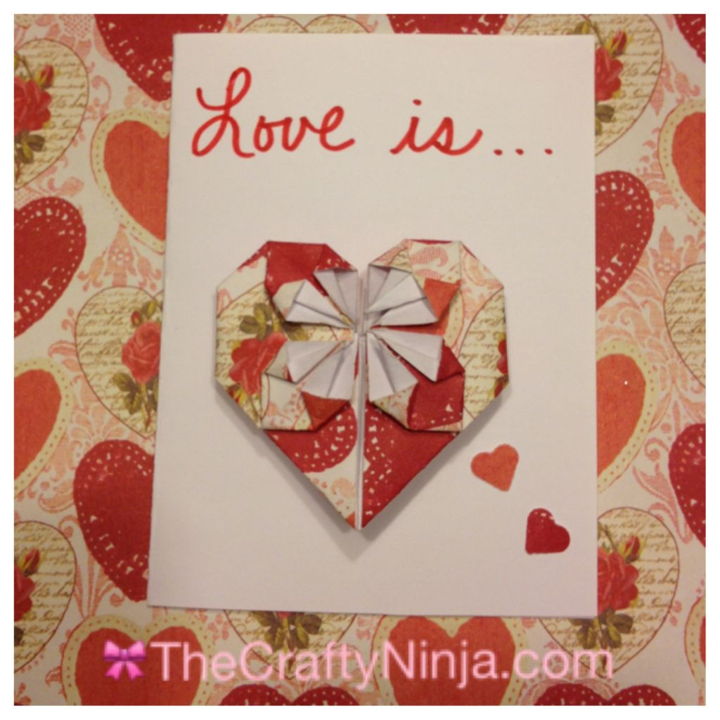 Origami heart the crafty ninja here are the steps to create this origami heart first trace a dollar bill jeuxipadfo Images