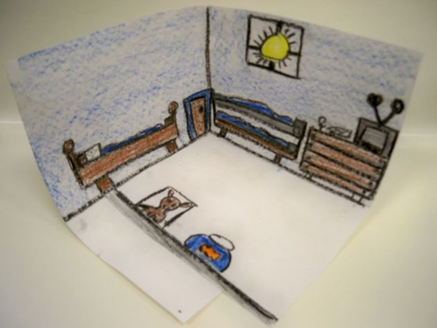 van gogh bedroom art lesson