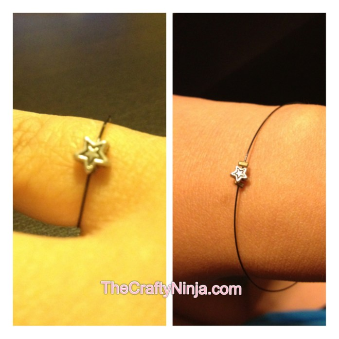 diy simple ring bracelet
