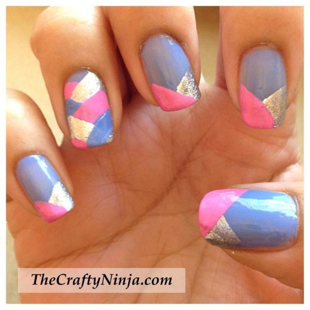 fishtail braid nail tutorial