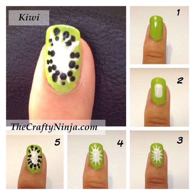 kiwi nail tutorial