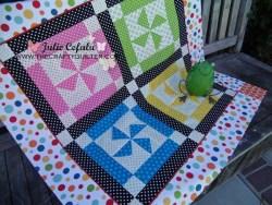 Dottie Pinwheel Baby Quilt
