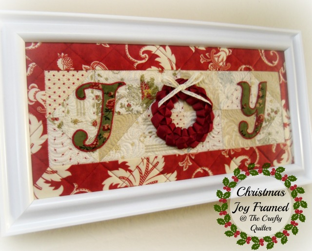 Christmas JOY Quilt at The Crafty Quilter