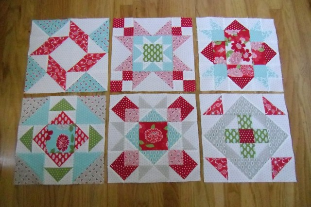 FQS Blocks thru 6 @ The Crafty Quilter