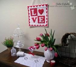 LOVE Letters Mini Quilt
