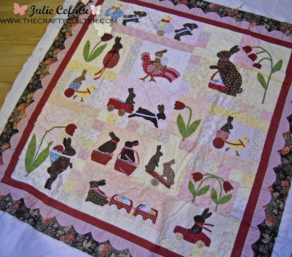 Rabbits Prefer Chocolate at The Crafty Quilter