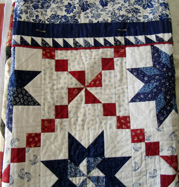 Oh my many stars at The Crafty Quilter