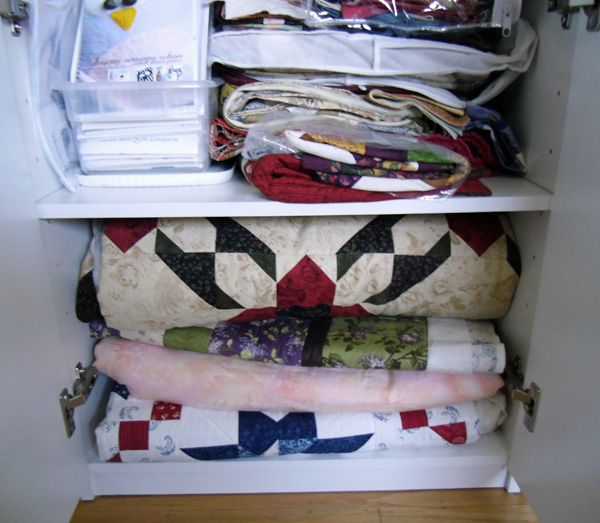 UFO Cabinet at The Crafty Quilter