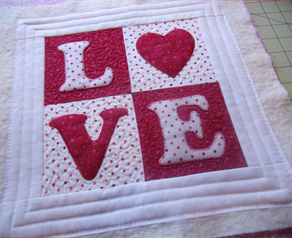 love quilted untrimmed