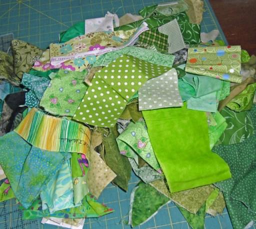 green scraps
