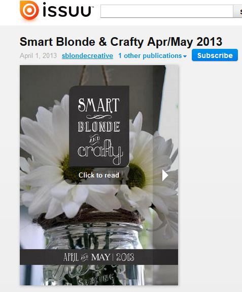 SMart blond & crafty