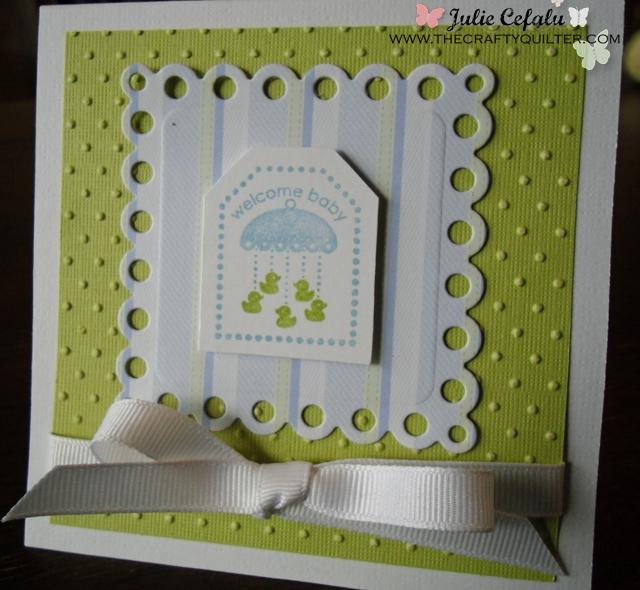 baby card copy