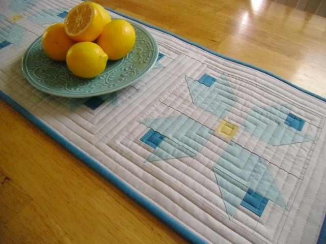 modern tulip table runner