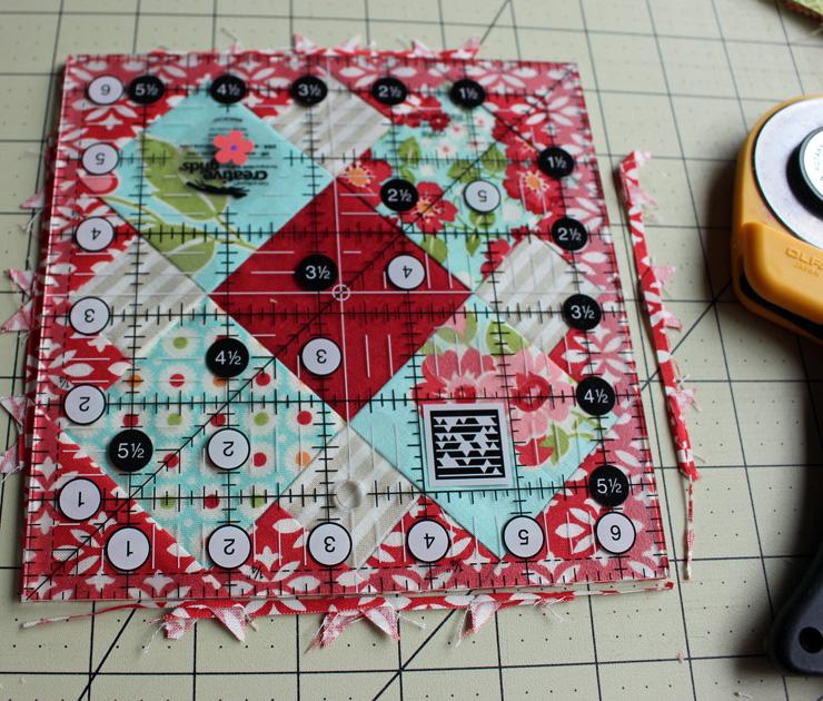 apron square trimming