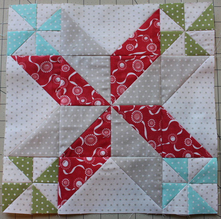Block 12 @ The Crafty Quilter