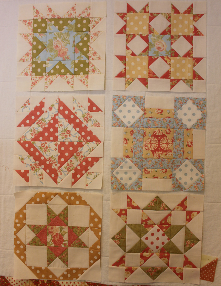 Blogger Girl's BOM blocks