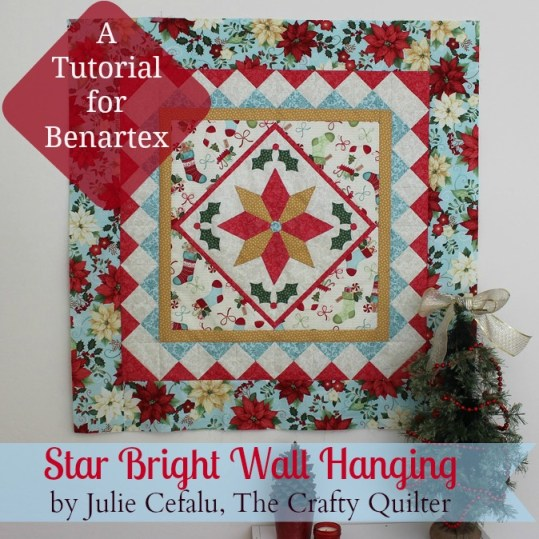 Christmas Wallhanging Tutorial by Julie Cefalu