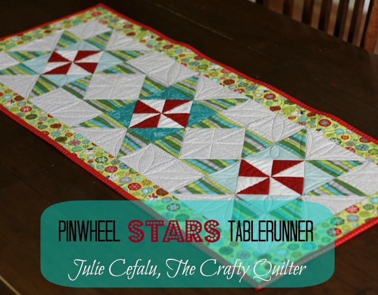 Pinwheel Stars Tablerunner